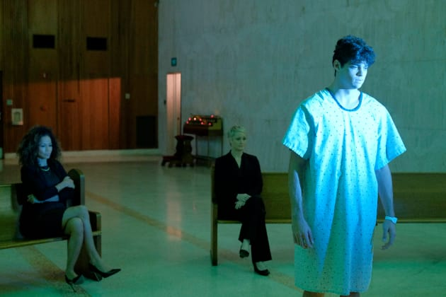 Ominous Jesus- The Fosters Season 4 Episode 12