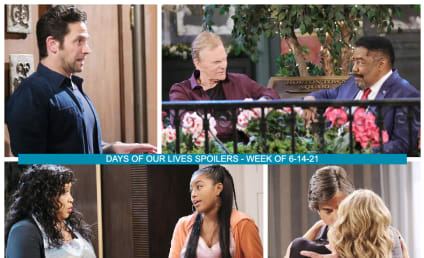 Days of Our Lives Spoilers Week of 6-14-21: Sami Caught Between Two Lovers