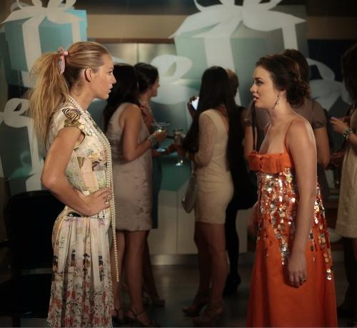 Serena and Blair Conflict