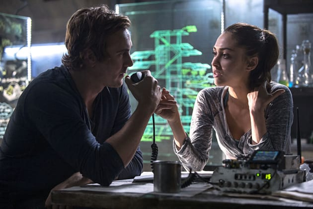Brainstorming - The 100 Season 2 Episode 14