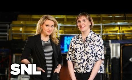 Lena Dunham SNL Promos