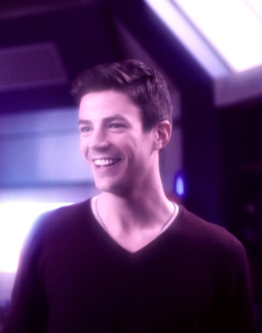 Barry Gets Excited - The Flash Season 5 Episode 12