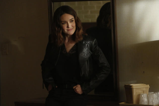 Red must have said something funny - The Blacklist Season 4 Episode 22
