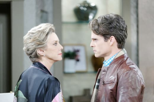 Confronting His Mother - Days of Our Lives