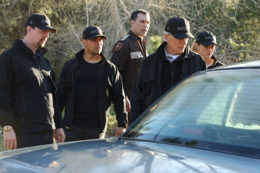 An Escapted Petty Officer - NCIS