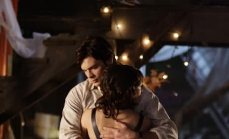 Clark Hugs Her