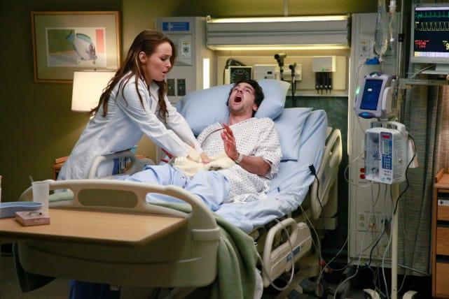 Jo Tries To Help - Grey's Anatomy Season 11 Episode 19