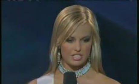Aimee Teegarden Questions Miss Teen South Carolina!