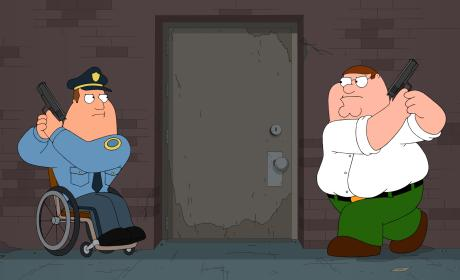 Solving the Crime - Family Guy