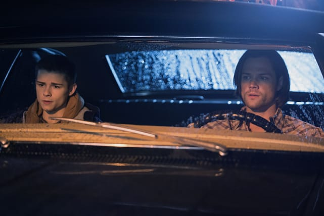 """""""I got no grass on the infield and a girl's gonna die."""" Supernatural"""