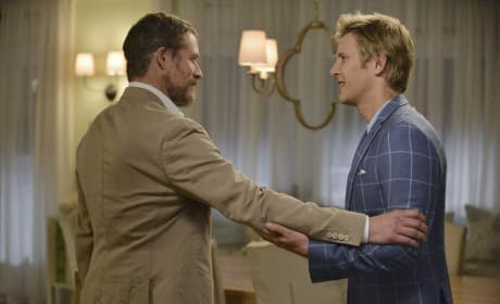 Nolan Looks Relieved - Revenge Season 4 Episode 6