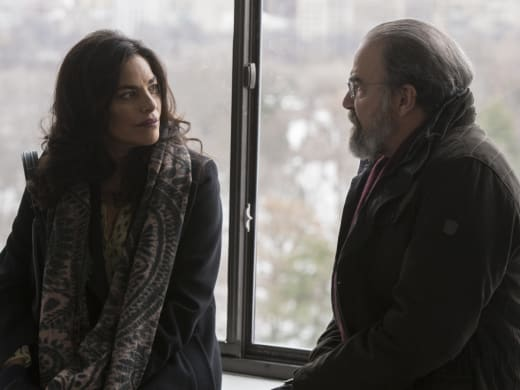 Mira and Saul Say Their Goodbyes - Homeland