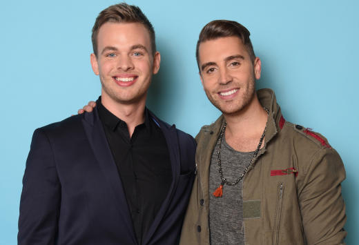 Clark Beckham and Nick Fradiani Photo - American Idol