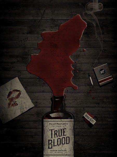 True Blood PaleyFest Poster