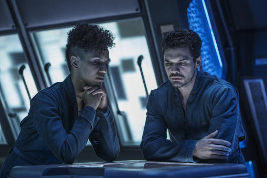 Holden and Naomi Lament - The Expanse Season 2 Episode 5