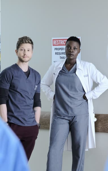 The Original Badasses - Tall - The Resident Season 2 Episode 7