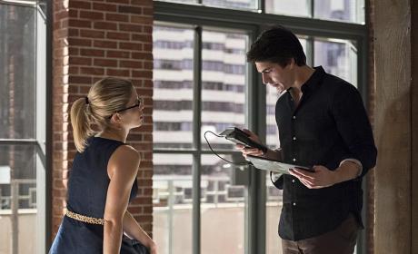 Together Again - Arrow Season 4 Episode 7