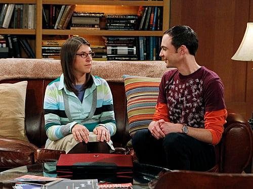 Amy with Sheldon