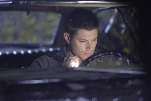 Dean in the Car