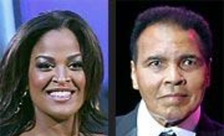 Laila Ali and her Famous Father