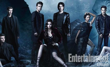 New Vampire Diaries Cast Photo: Look Who's Back!