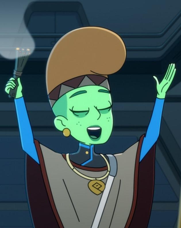 Spiritual Tendi - Star Trek: Lower Decks Season 1 Episode 4