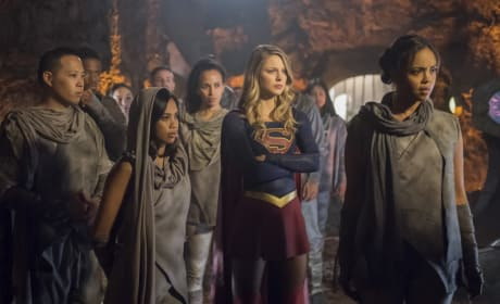 Mission to Mars - Supergirl Season 3 Episode 3