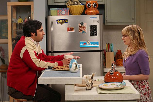 Bernadette Talks to Raj