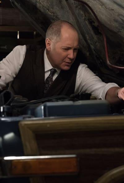Red Thinks - The Blacklist Season 6 Episode 19