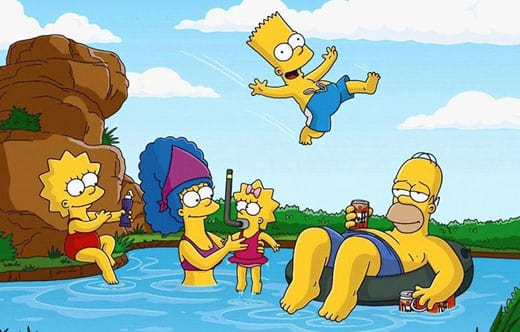 The Simpsons in Springfield