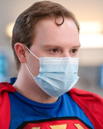 Hospital Superhero - Tall - New Amsterdam Season 3 Episode 6