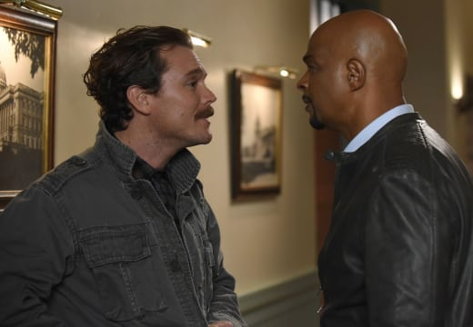 Disagreement - Lethal Weapon Season 1 Episode 12