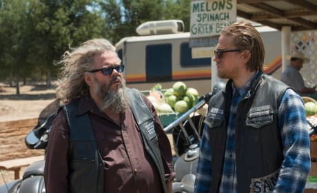 Bobby and Jax - Sons of Anarchy Season 7 Episode 2