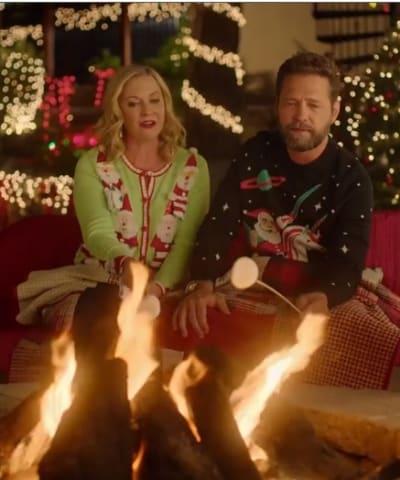 Roasting Marshmallows - Dear Christmas