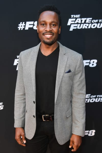Kendrick Cross at a Movie Premiere