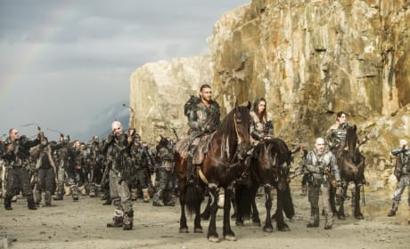 Ready to Attack – The 100 Season 4 Episode 5