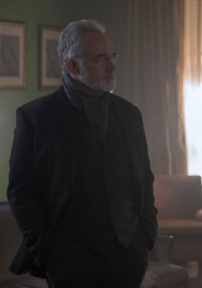 Glaring Commander Lawrence - The Handmaid's Tale Season 3 Episode 1