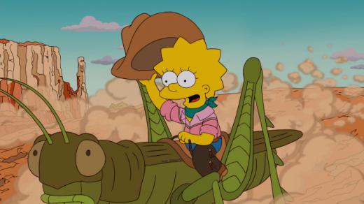 Lisa Dreams of Bugs