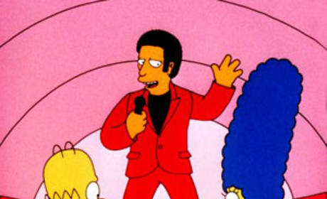 Tom Jones on The Simpsons