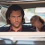 Sam checking the mirror - Supernatural Season 11 Episode 4