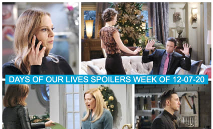 Days of Our Lives Spoilers Week of 12-07-20: The Season of Many Returns