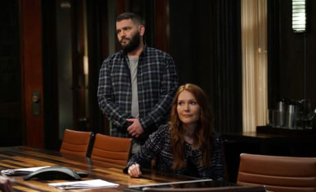 Huck and Abby - Scandal Season 7 Episode 4