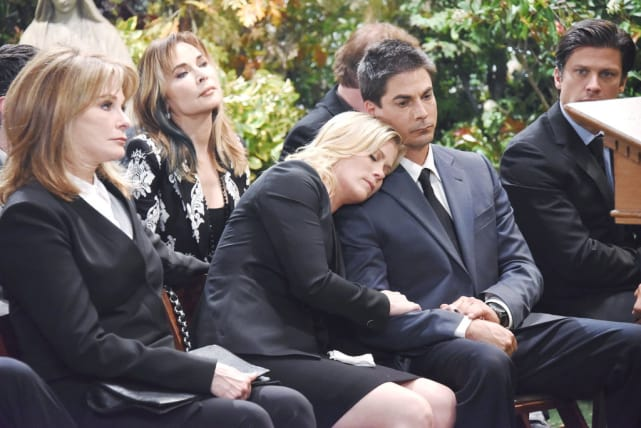 Will's Funeral - Days of Our Lives