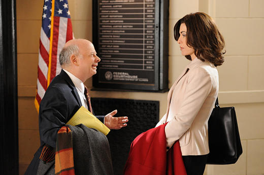 Wallace Shawn on The Good Wife