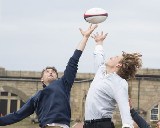 A Game of Rugby - The Bachelorette