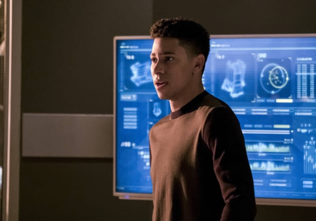 Wally Worries - The Flash Season 3 Episode 21