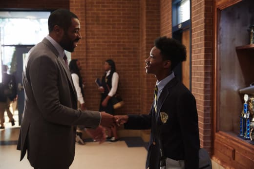 Principal Pierce - Black Lightning