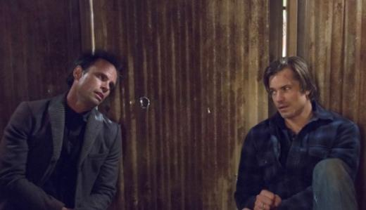 Boyd and Raylan Scene