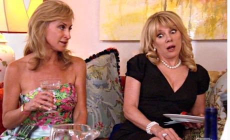 The Real Housewives of New York City Premiere Scene