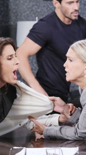Fighting With Gina - Days of Our Lives